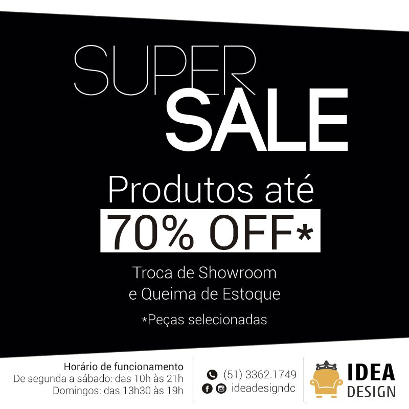 Idea Design Com Até 70% OFF!